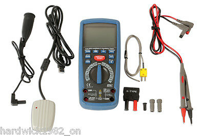 Insulation Resistance Multimeter Tester Tool Hybrid Leads Probe Rms Cat111