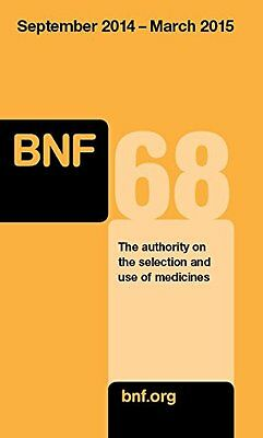 British National Formulary (BNF) 68, Joint Formulary Committee, New Book