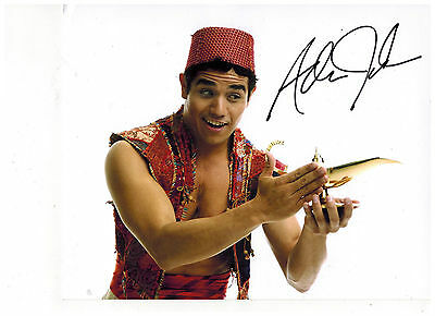 ADAM JACOBS--ALADDIN ON BROADWAY Signed Photo 8x10--  2015 PROOF-FREE SHIPPING