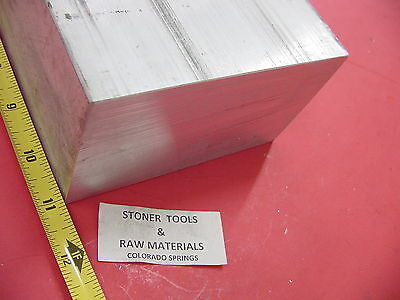"3"" X 6"" ALUMINUM 6061 FLAT BAR 11"" LONG SOLID T6511 3.00"" Plate Mill Stock"