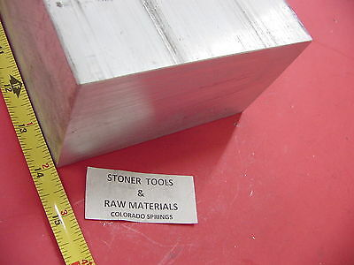 "3"" X 6"" ALUMINUM 6061 FLAT BAR 14"" LONG SOLID T6511 3.00"" Plate Mill Stock"