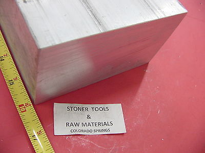 "3"" X 6"" ALUMINUM 6061 FLAT BAR 16"" LONG SOLID T6511 3.00"" Plate Mill Stock"