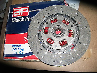 Ford Transit 2.4D York New Heavy Duty Clutch  Plate