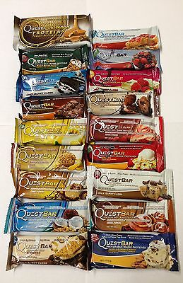 Quest Nutrition, 18 Protein Bars, Mixed bars set - NEW STOCK