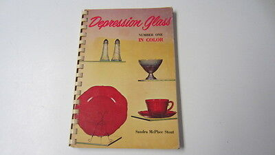 1970, Depression Glass in Color, Number One by Sandra McPhee Stout, BIN (MD)
