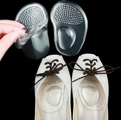 Silicone Gel Ball Foot Cushion Insoles Metatarsal Support Insert Pad Shoes