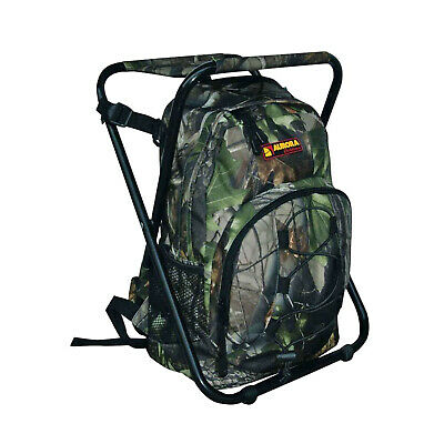 AURORA Outdoor Backpack - Rucksack mit Hocker - camo