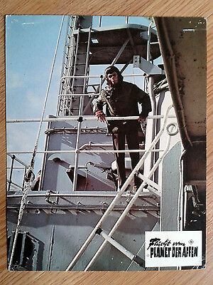 ESCAPE FROM THE PLANET OF THE APES rare vintage German LC #9 1971 Sci-Fi classic