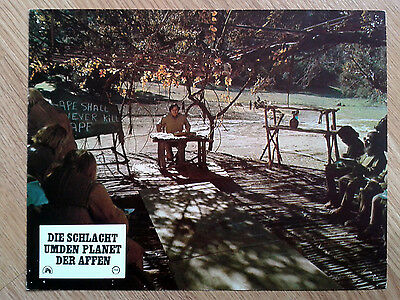 BATTLE FOR THE PLANET OF THE APES rare vintage German LC #2 1973 Sci-Fi classic