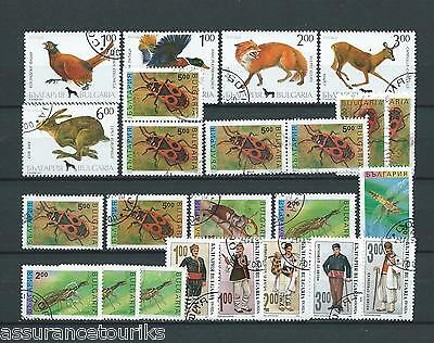 Bulgarie - Lot Timbres 1993 - Obl. / Used