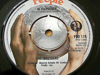 """The Brothers - In The Pocket  7"""" Vinyl"""