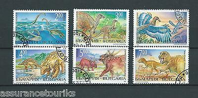 BULGARIE - 1994 YT 3563 à 3568 - TIMBRES OBL. / USED