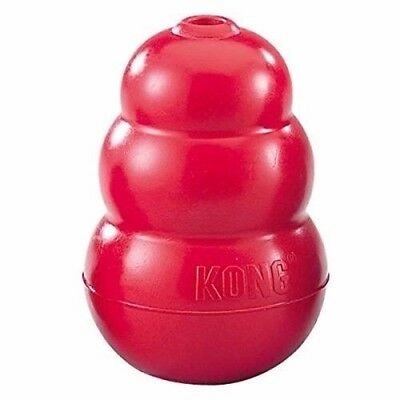 Classic Kong Rubber Red Dog Toy - X small, Small, Medium, Large