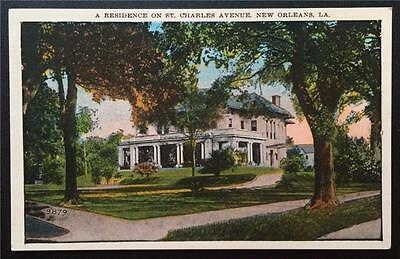 A Residence on St. Charles Avenue, New Orleans, LA C.B. Mason 201