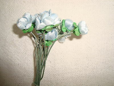 Vintage Blue Flowers- Corsage / Bouquets / Brooches / Hair