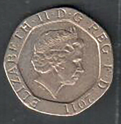 Great Britain - Twenty Pence Coin - 2011