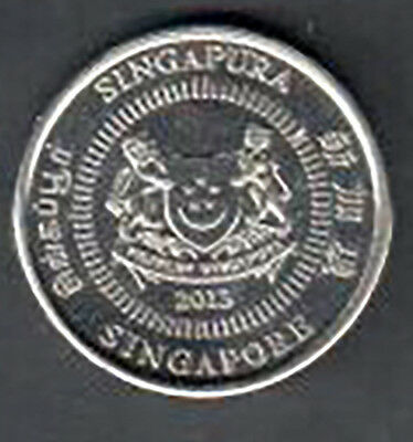 Singapore 10 Cent Coin - 2013