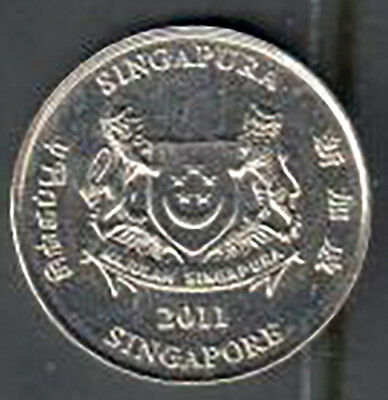 Singapore 20 Cent Coin - 2011