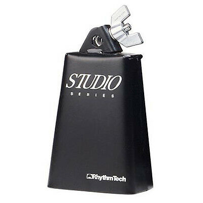 Rhythm Tech Studio Series 5in Cowbell with Rock Lock Mount Carbon Steel RT3005
