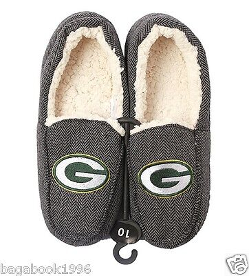 NFL Men's Green Bay Packers Slippers / Loafers (NEW)  NFL9