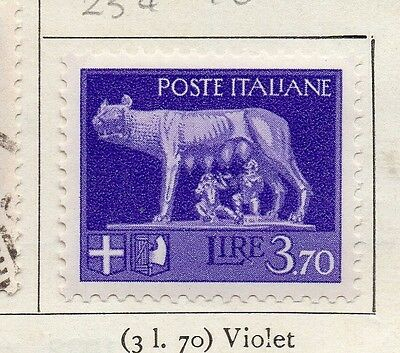 Italy 1930 Early Issue Fine Mint Hinged 3.70L. 091291