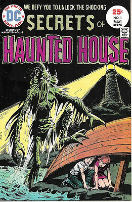 Secrets of Haunted House Comic Book #1, DC Comics 1975 VERY FINE