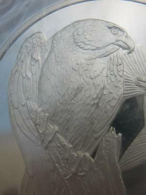 Peregrine Falcon Franklin Mint Gilroy Roberts Birds Sterling Silver 2.08 Troy.oz