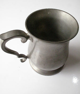 Vintage Dunhill Pewter Made In England - Free Postage