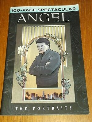 Angel 100 Page Spectacular The Portraits Idw Comics