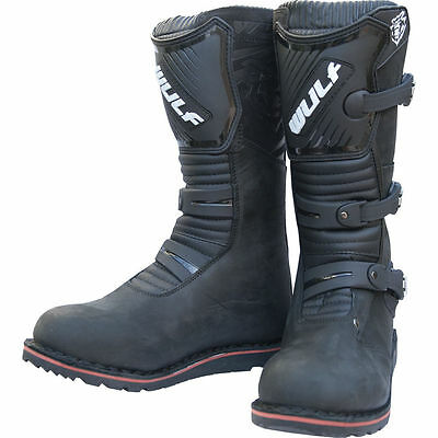 Wulfsport adults offroad trials riding boots size eu47 black