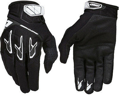 MENS ONE INDUSTRIES ATOM MOTOCROSS MX GLOVES BLACK new gants quad bike bmx mtb