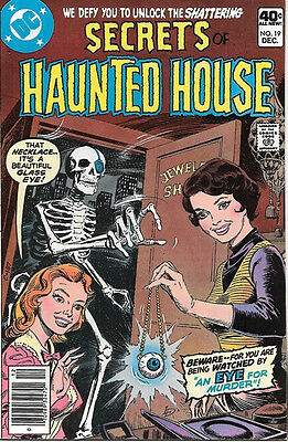 Secrets of Haunted House Comic Book #19, DC Comics 1979 VERY FINE/NEAR MINT