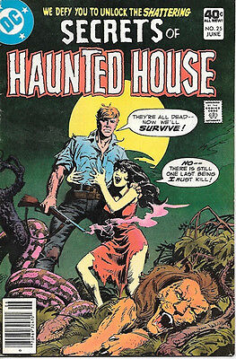 Secrets of Haunted House Comic Book #25, DC Comics 1980 FINE