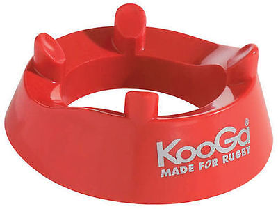 New Kooga Kicking Ring Traditional Heavy Moulded Plastic Rugby Kicking Tee
