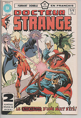 DOCTOR STRANGE #5/6 french comic français EDITIONS HERITAGE