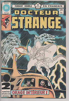 DOCTOR STRANGE #7/8 french comic français EDITIONS HERITAGE