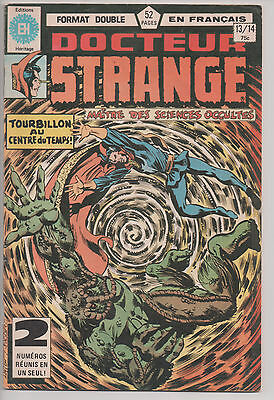 DOCTOR STRANGE #13/14 french comic français EDITIONS HERITAGE