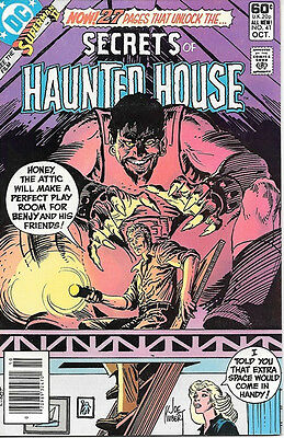 Secrets of Haunted House Comic Book #41, DC Comics 1981 VERY FINE