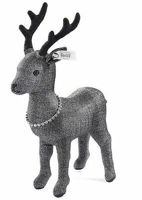 Steiff Enchanted Forest Graphite Deer Limited Edition Collectable, 025969