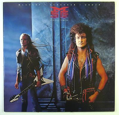 """12"""" LP - McAuley Schenker Group - Perfect Timing - C1795 - washed & cleaned"""