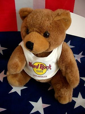 HRC Hard Rock Cafe Los Angeles Classic Brown Bear 10``