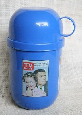 TV Television Guide Thermos Bewitched Luke & Laura Sonny & Cher X- Files Promo