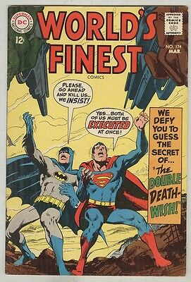 World's Finest #174 March 1968 VG+ Neal Adams cover