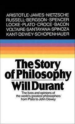 NEW The Story Of Philosophy By Will Durant Paperback Free Shipping