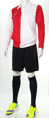 15 x Nike Mens Football Team Kits 'AS Monaco' style Red/White (S to 2XL) #2