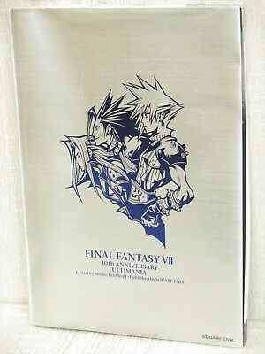 FINAL FANTASY VII 7 10th Anniversary Art Illustration Book Ltd SE*