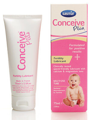 Conceive Plus Esperma Amigable Lubricante 75ml-  10+ Usos