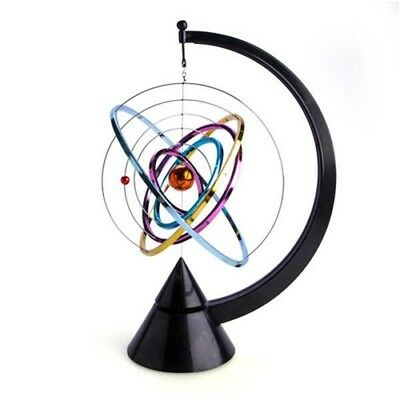 Funny Office Toys Solar System Kinetic Art Pranks Office Desk Sculpture Toy Gift