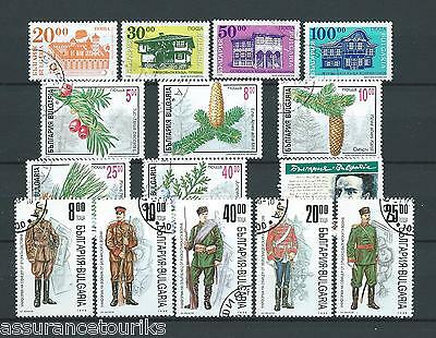 Bulgarie - Lot Timbres 1996 - Obl. / Used