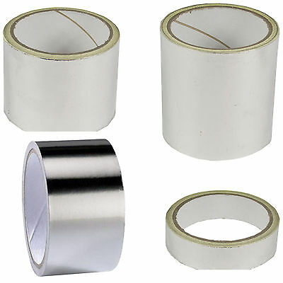 Aluminium Foil Tape Self Adhesive Reflective Heat Moisture Resistant Insulation